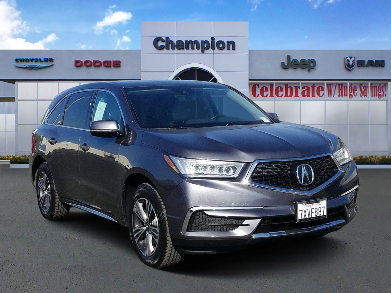 Pre-Owned 2017 Acura MDX BASE