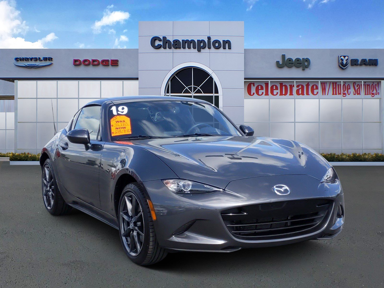 Pre-Owned 2019 Mazda MX-5 Miata RF Grand Touring