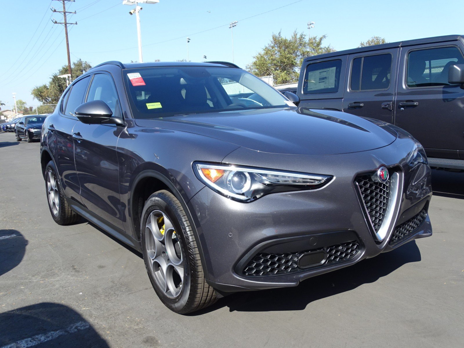 New 2019 Alfa Romeo Stelvio Sport Utility In Downey A391 Champion